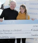 Hilary Duff at 'Danskin: Move For Change' at the Santa Monica ice rink (December 10)