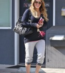 Hilary Duff a Pilates Class in Toluca Lake (December 15).