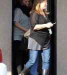 Hilary Duff at a California Animal Hospital (December 18).