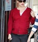 A very pregnant Jennifer Garner in Brentwood, Ca December 1st 2011