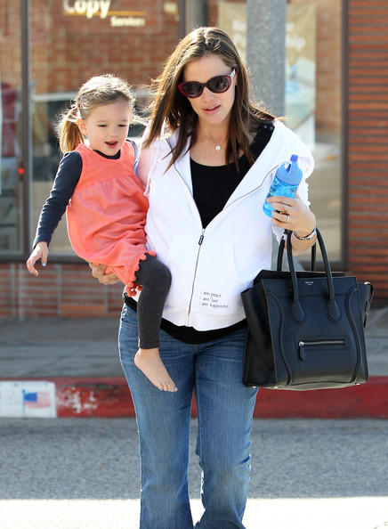 Jennifer Garner & Seraphina's Pampering Day