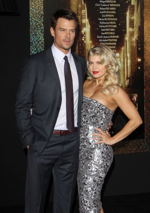 Fergie, Josh Duhamel at the New Year's Eve Premiere held at The Grauman's Chinese Theatre in Hollywood, California on December 5th, 2011.