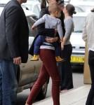 Miranda Kerr & Flynn at the airport in Sydney, Australia on Friday (December 2).