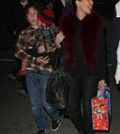 Kourtney Kardashian & Family at the Disney On Ice Toy Story 3 (December 14)
