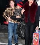 Kourtney Kardashian & Family at the Disney On Ice Toy Story 3 (December 14)