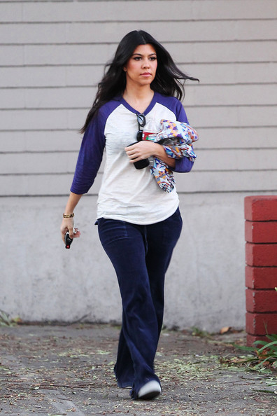 Kourtney Kardashian's Casual Studio Day