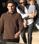Kourtney Kardashian, Scott Disick and their son Mason at Barney's New York (December 10)