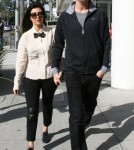 Kourtney Kardashian and Scott Disick out in Beverly Hills (December 2).