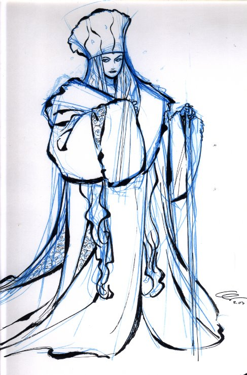 Original Artwork From Disney's Adaptation of The Snow Queen