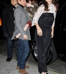 Tom Cruise, Katie Holmes and Suri out for dinner in New York City (December 18)