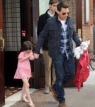 Tom Cruise and Suri Cruise in NYC December 16, 2011