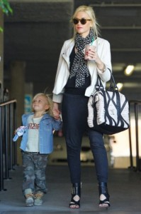 Gwen Stefani And Zuma Out And About