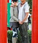 Gwen Stefani, Gavin Rossdale Take Kids To The Park