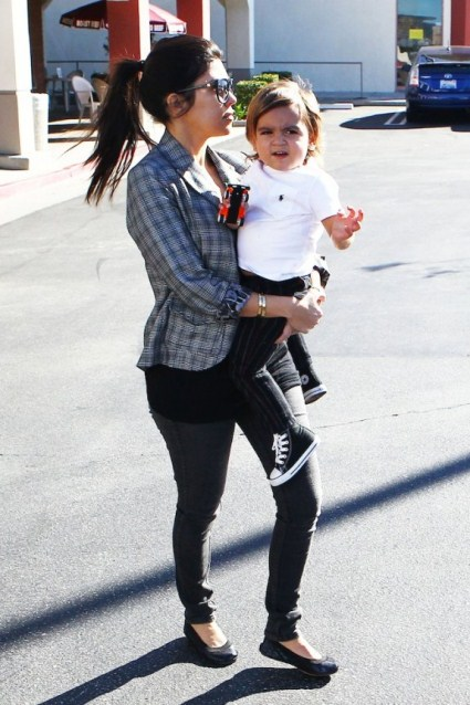 Kourtney Kardashian's Super Stylish Pregnancy