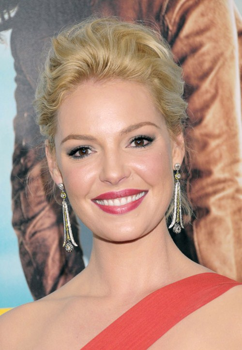 """Katherine Heigl at the """"One For The Money"""" New York Premiere at the AMC Loews Lincoln Square on January 24, 2012 in New York City, NY"""
