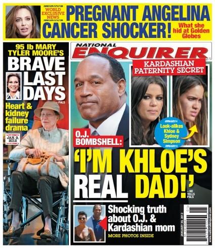 Is OJ Simpson Khloe Kardashian's Real Father?