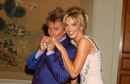 Penny Lancaster & Rod Stewart