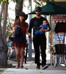 Natalie Portman Spends The Day With Her Boys