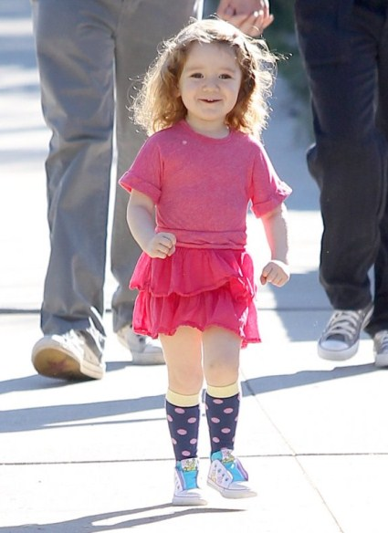 Alyson Hannigan's Family Day Out