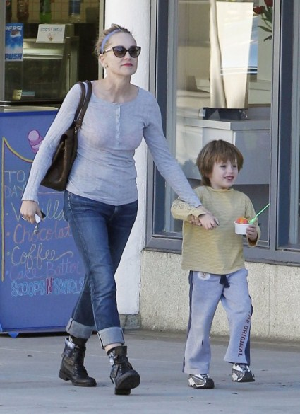 Sharon Stone Plays The Role Of Mom
