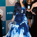 Actress Sarah Michelle Gellar arrives at 13th Annual Warner Bros. And InStyle Golden Globe Awards After Party at The Beverly Hilton hotel on January 15, 2012 in Beverly Hills, California