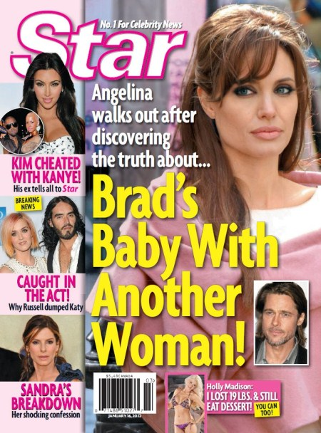 Angelina Jolie Storms Out On Brad Pitt Over His Baby With Jennifer Aniston