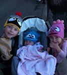 Tori Spelling & Children YoGabbaGabba