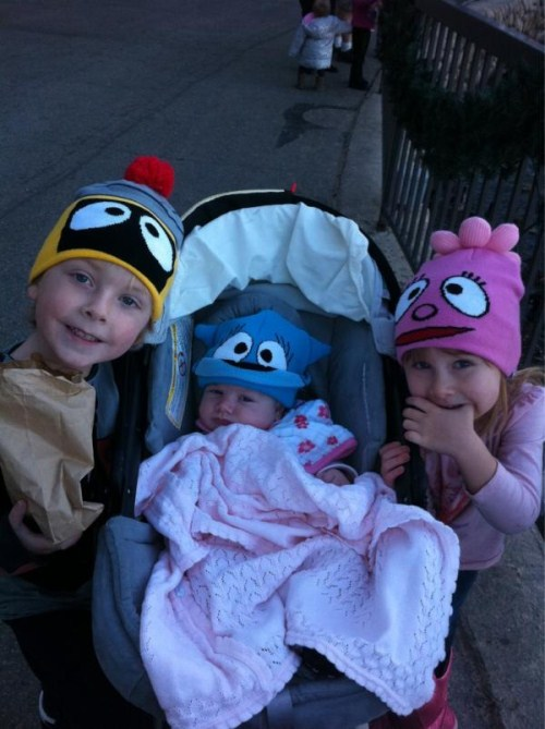 Tori Spelling's Children Looking Cute Courtesy Of YoGabbaGabba