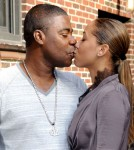 Tracy Morgan Kisses Megan Wollover