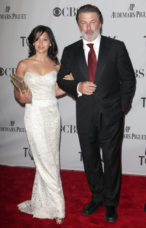 Alec Baldwin & 27-year-old Girfriend Hilaria Thomas
