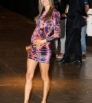 Alessandra Ambrosio walks the catwalk at the Colcci Show at Sao Paulo Fashion Week in Brazil January 22, 2012