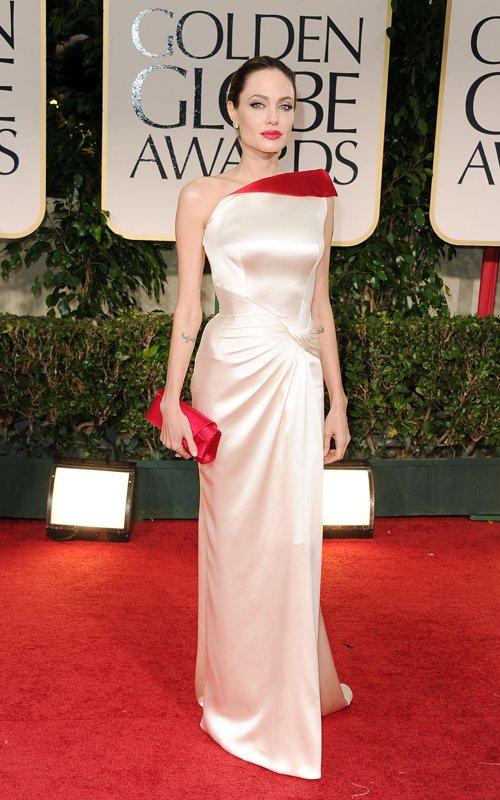 Angelina Jolie 2012 69th Golden Globes