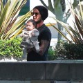 David Beckham And His Little Princess