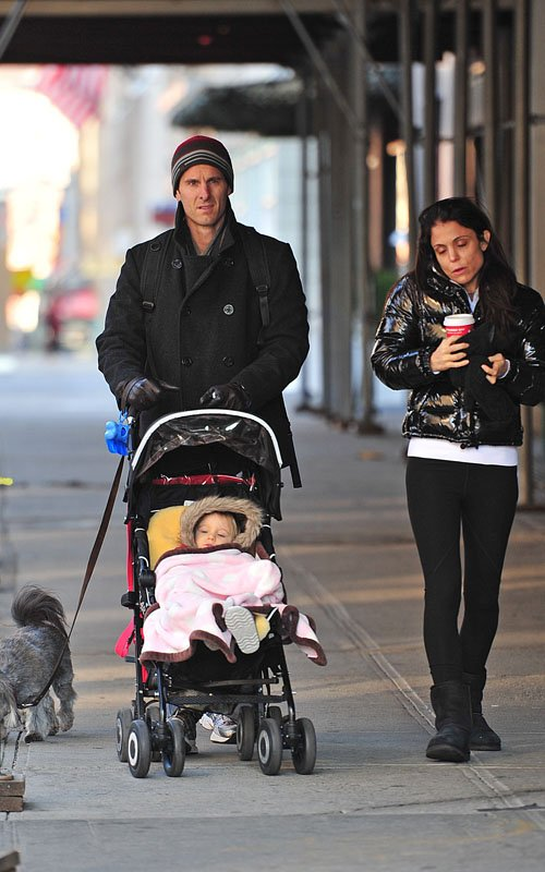 Bethenny Frankel Out In Nyc With Husband Jason Hoppy And