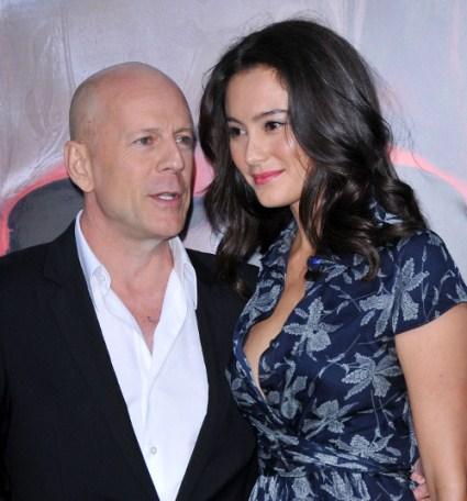 It's A Girl For Bruce Willis, Emma Heming