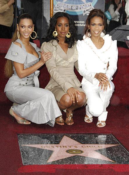 Destiny Child Hollywood Walk Of Fame Ceremony