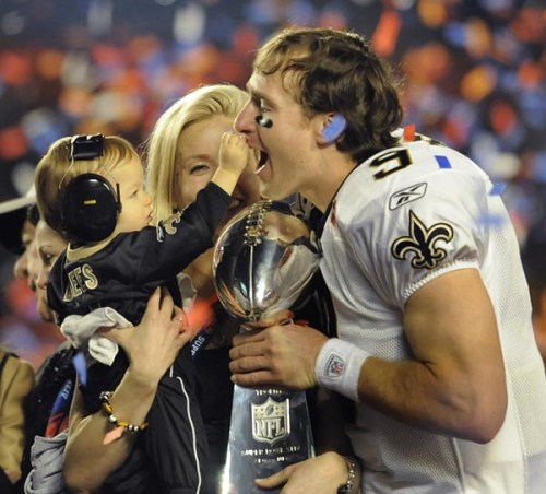 Drew Brees and Wife Expecting Third Child