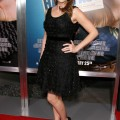 Jenna Fischer at the Hall Pass World Premiere held at The Cinerama Dome in Hollywood, California on February 23rd, 2011.