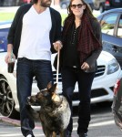 Ben Affleck and Jennifer Garner out together in Brentwood (January 25)