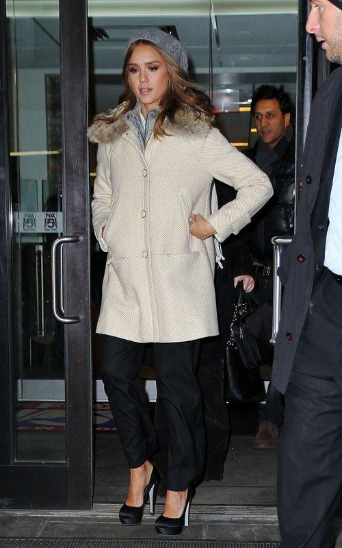 Jessica Alba In NYC