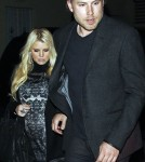 Jessica Simpson and Eric Johnson at Mastro's Steakhouse