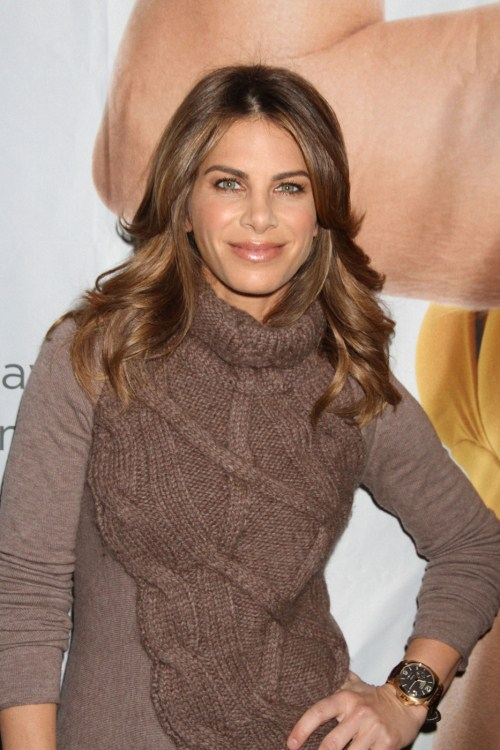 Tuesday January 10, 2012. Personal Trainer Jillian Michaels speaks at the Consumer Electronic Show in Las Vegas.