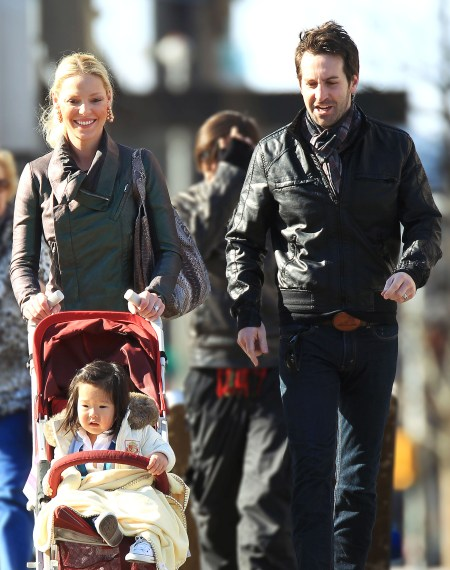 Katherine Heigl, Josh Kelley & Naleigh