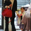 Katie Holmes & Suri Cruise At Chelsea Pier In NYC