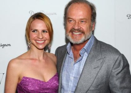 It's Twins for Kelsey Grammer, Kayte Walsh