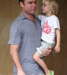 Liev Schreiber's Rainy Day With Sons | Celeb Baby Laundry