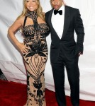 Mariah Carey and Nick Cannon at the 2012 BET Honors in Washington DC.