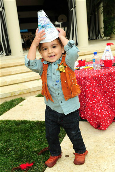 Mason Disick Celebrates Second Birthday With A Wild West Party