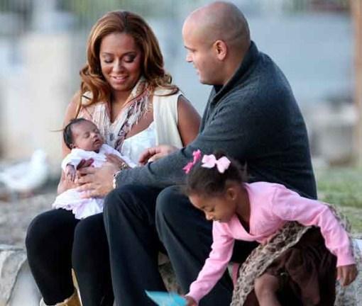 Mel B & Family