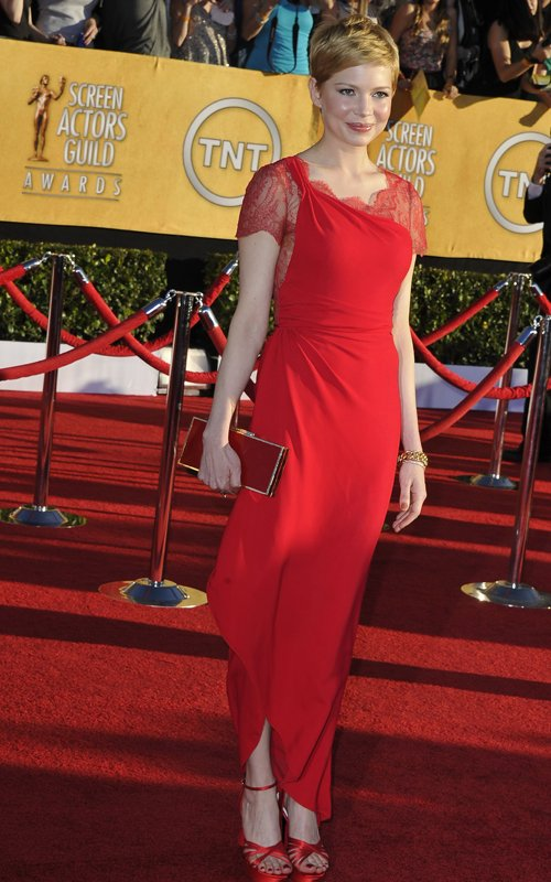 Michelle Williams Sag Awards 2012